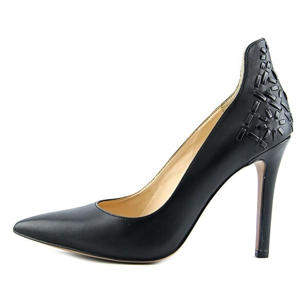 d4bcb3e757cb Jessica Simpson Crampell Women Pointed Toe Leather Black Heels - Free  Shipping On Orders Over  45 - Overstock.com - 20831462