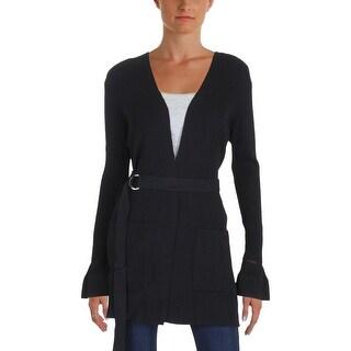 MICHAEL Michael Kors Womens Cardigan Sweater Bell Sleeve Work Wear