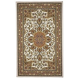 Area Rugs 5 x 8 Traditional Oriental Floral Area Rug Tan,Beige, white, carpet,Living Room,dining room, Foyer