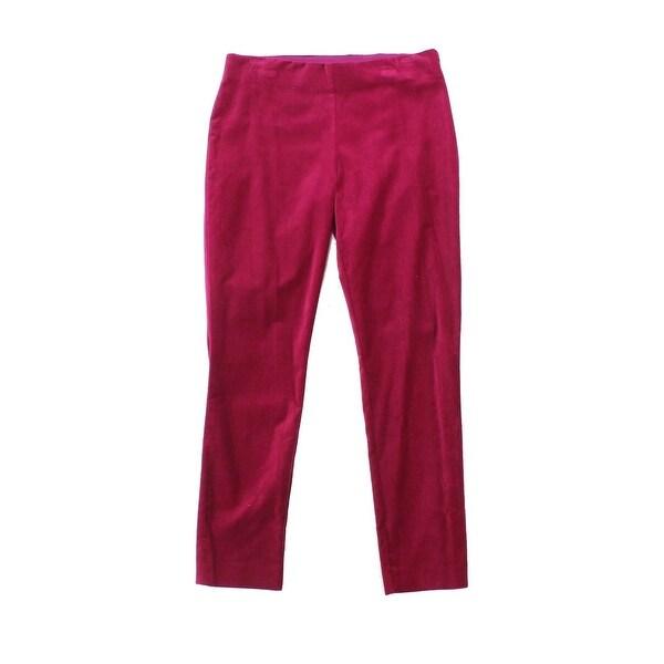 Lauren by Ralph Lauren Pink Women's Size 16 Stretch Velvet Pants