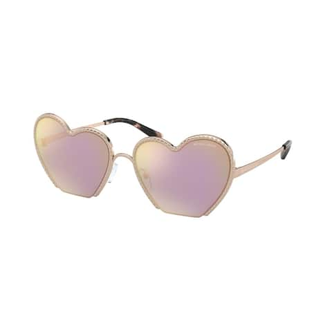 Michael Kors MK1068 11084Z 60 Rose Gold Woman Irregular Sunglasses