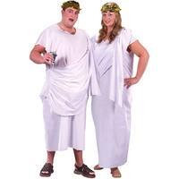 Plus Size Toga Ancient Greece Halloween Costume - big & tall
