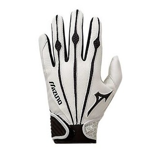 Mizuno Vintage Pro Men's Batting Gloves Baseball/Softball 1 Pair 330286 (Option: Grey)