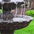 Sunnydaze Classic Tulip 3 Tier Fountain, 46 Inch Tall - Thumbnail 6