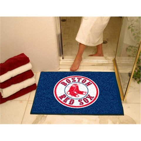 FANMATS 6331 Boston Red Sox All-Star Rugs 34 in. x 45 in.