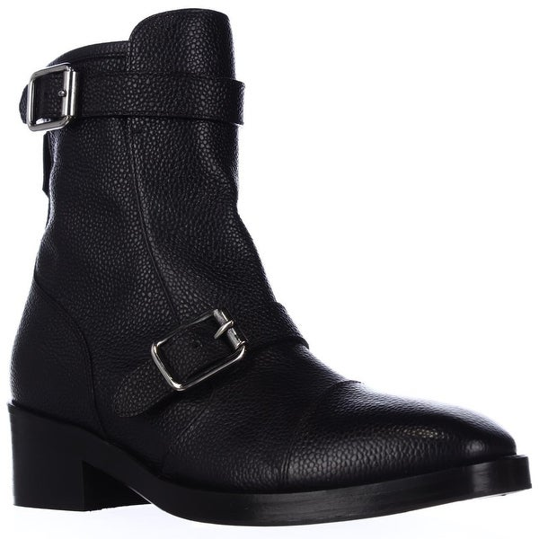 Kalliste 5113 Double Strap Ankle Boots, Blue Grey