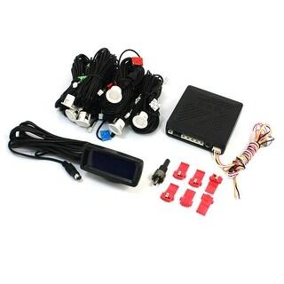 Car Auto Reverse Radar Backup System 6 Parking Sensors Reversing Kit