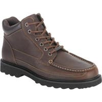Rockport Men's Dougland Chocolate Leather