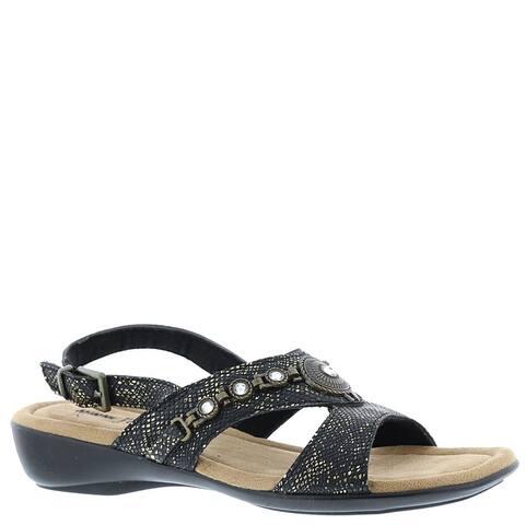 Minnetonka Womens Selene Closed Toe Casual Slingback Sandals