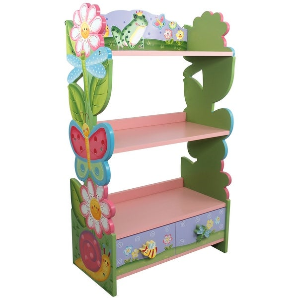Fantasy Fields - Magic Garden Kids Bookcase with Toy Storage