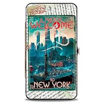 Fantastic Beasts And Where To Find Them A Magical Welcome To New York Hinged Wallet