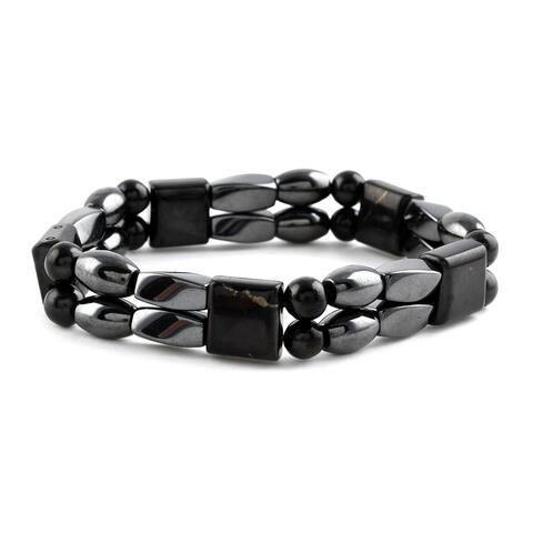 Shop LC Hematite Stretch Bracelet Jewelry Gift Ct 151