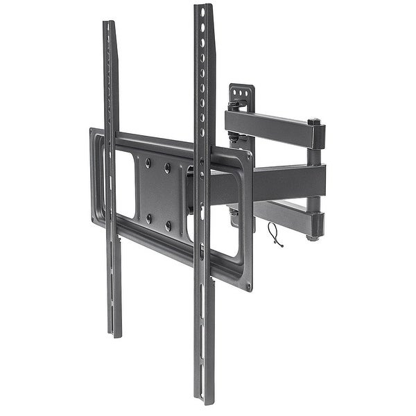 """Manhattan 461320 32"""" To 55"""" Wall Mount Universal Basic Lcd Full-Motion For Flat Panel Or Tv Up 35Kg"""