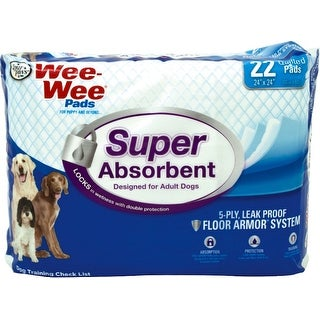 Wee Wee Super Absorbent Pads