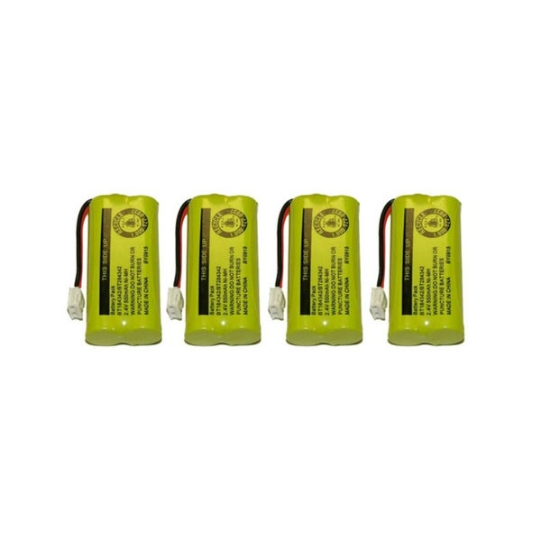 Replacement VTech 6010 Battery for BT184342 / BT284342 Battery Models (4 Pack)