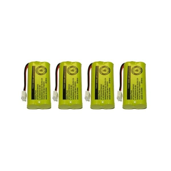 Replacement VTech 6010 Battery for BT28433 / BT8000 Battery Models (4 Pack)