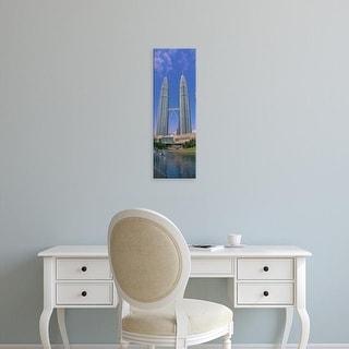 Easy Art Prints Panoramic Images's 'Petronas Twin Towers, Kuala Lumpur, Malaysia' Premium Canvas Art
