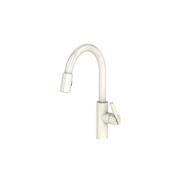 Newport Brass 1500 5103 East Linear Pull Down Spray Kitchen Faucet With  Magnetic Docking
