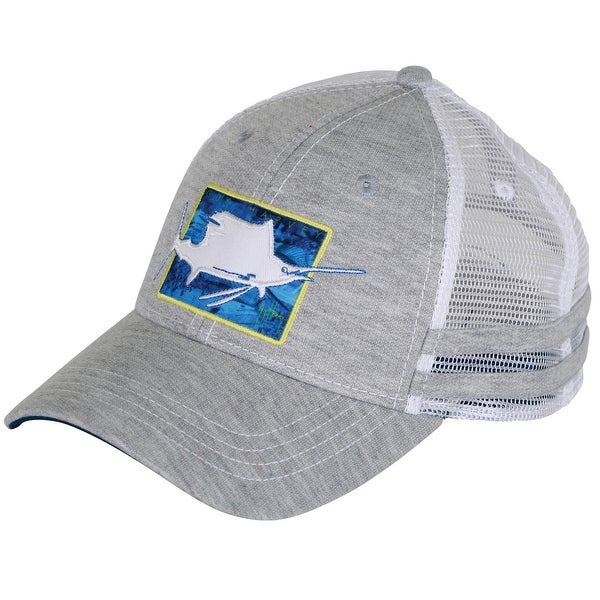 edf2046638a90 Shop Guy Harvey Unisex-Adult Flyaway Ball Cap One Size Gray - Free Shipping  On Orders Over  45 - Overstock - 16292873