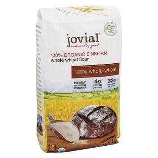 Jovial 1837525 Organic Einkorn Wheat Berries, 32 oz - Case of 10