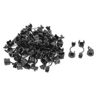Unique Bargains 50 x Electrical Equipment Nylon Strain Relief Bushing for 4.5mm Round Cord