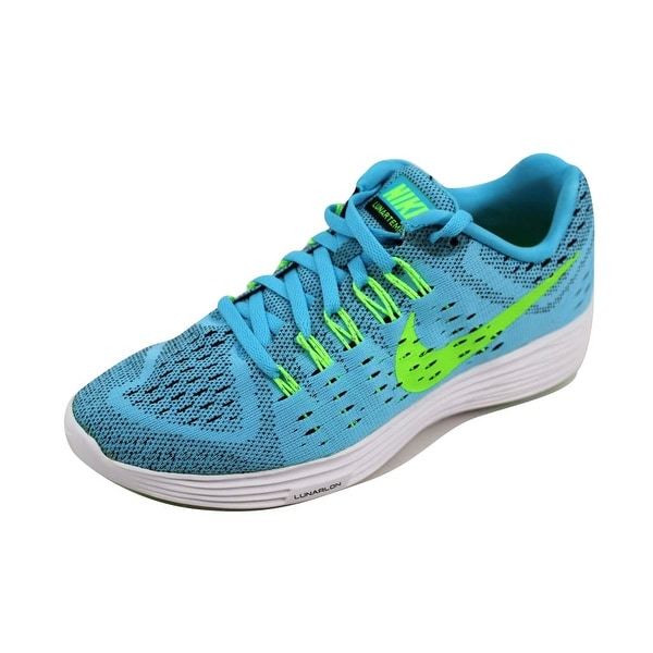 Nike Women's Lunartempo Clearwater/Flash Lime-Black-White 705462-400