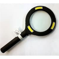 Promier 238417 3X COB LED Lighted Magnifying Glass