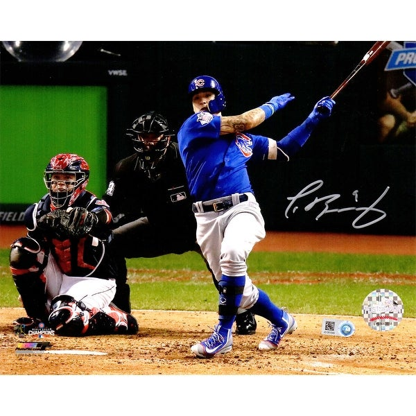 ed01c3408 Shop Javier Baez Chicago Cubs 2016 World Series Game 7 Homerun Action 8x10  Photo - Free Shipping Today - Overstock - 19215376