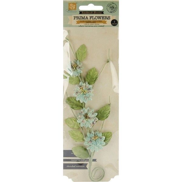 "Fairy Belle Handmade Paper Flowers-Button Vine 8"""