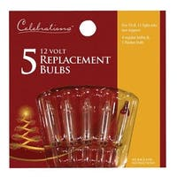 Celebrations 1145-2-71 Clear 12V Replacement Bulbs
