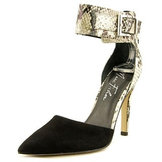 Marc Fisher Mivie 2 Women Pointed Toe Leather Heels