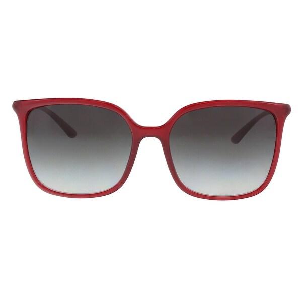 Dolce & Gabbana DG6112 30918G Transparent Bordeaux Square Sunglasses - 56-17-140