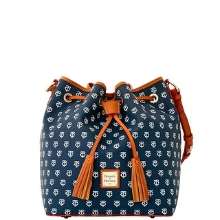 Dooney & Bourke MLB Twins Drawstring (Introduced by Dooney & Bourke at $248 in Oct 2015) - Navy
