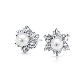 Bling Jewelry Imitation Pearl Winter Snowflake CZ Stud earrings Rhodium Plated 17mm - White|https://ak1.ostkcdn.com/images/products/is/images/direct/58cb7d7ec23376eb95b9f52779298b4be1d1b54c/Bling-Jewelry-Simulated-Pearl-Winter-Snowflake-CZ-Stud-earrings-Rhodium-Plated-17mm.jpg?impolicy=medium