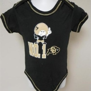 Colorado Buffaloes Infants Sizes 0 3 3 6 6 9 12 Months ProEdge Bodysuit