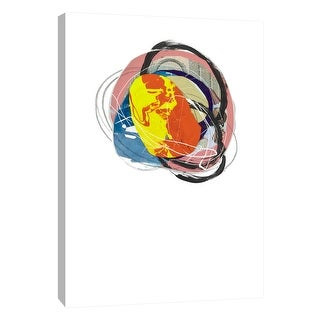 "PTM Images 9-108607  PTM Canvas Collection 10"" x 8"" - ""Cairn 5"" Giclee Abstract Art Print on Canvas"