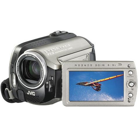 JVC GZ-MG255 Everio G Hybrid HDD/SD(HC) Camera, 2 Megapixel CCD, 30GB Hard Disk, 10x Optical/300x Digital Zoom