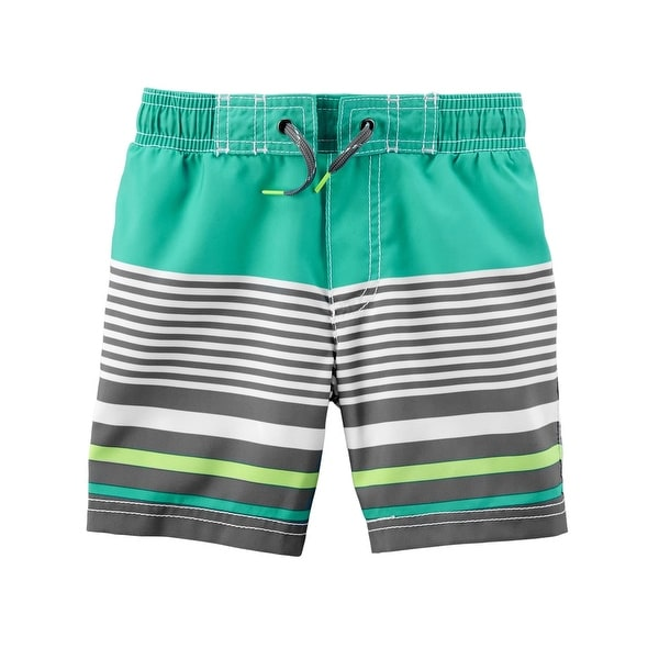 6a54384669 Shop Carter's Baby Boys' Striped Swim Trunks - Free Shipping On Orders Over  $45 - Overstock - 25586538
