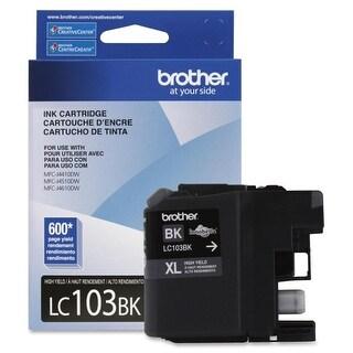 Brother LC103BK Brother Innobella LC103BK Ink Cartridge - Black - Inkjet - 600 Page - 1 Each