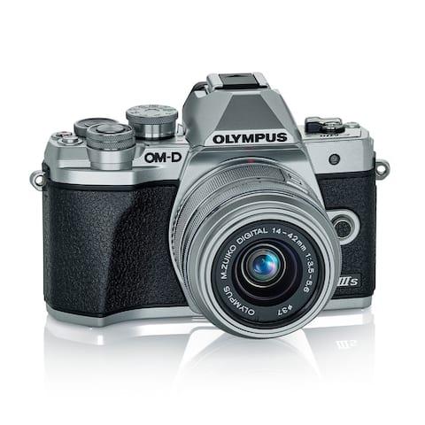 Olympus E-M10 Mark IIIs with M.Zuiko Digital 14-42mm IIR Lens (Silver)