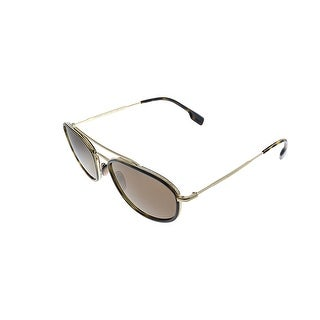 Burberry  BE 3106 110973 56mm Unisex Havana Frame Brown Lens Sunglasses