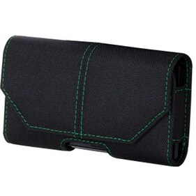 Xentris Wireless Eco-Friendly Universal RPET Pouch for Apple iPhone 4 / 4S - Bla