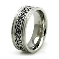 Stainless Steel Double Curb Chain Ring