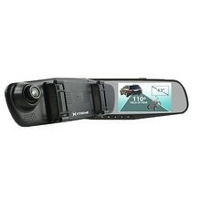 Xtreme XT-XBC61002BLK Rearview Mirror Dual Dash and Backup Camera