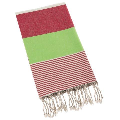 Swan Comfort Turkish Cotton Absorbent Beach Towel, Easy Care ideal for Bath Spa Fitness Yoga Pool Yatch Swimwear