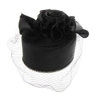 ChicHeadwear Satin Braid w/ Diamonds and Netting