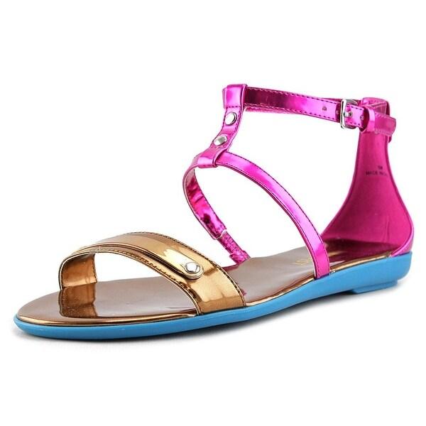 583e5ee8e2a Nine West Getup Open Toe Synthetic Gladiator Sandal - Free Shipping ...