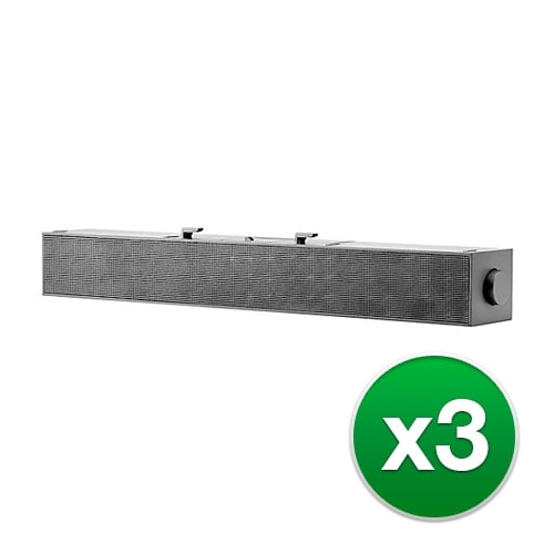 """""""HP S100 Sound Bar 2LC49AT (3-Pack) S100 Sound Bar"""""""