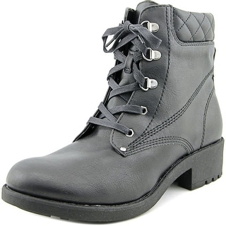 White Mountain Racket Round Toe Synthetic Ankle Boot