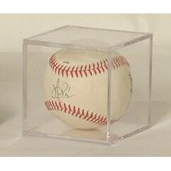 BallQube Baseball Display CaseHolder